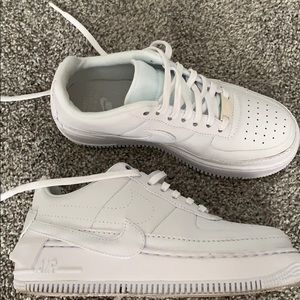 Nike Air Force 1 jester all white
